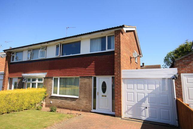 Thumbnail Semi-detached house for sale in De Bruce Road, Brompton, Northallerton