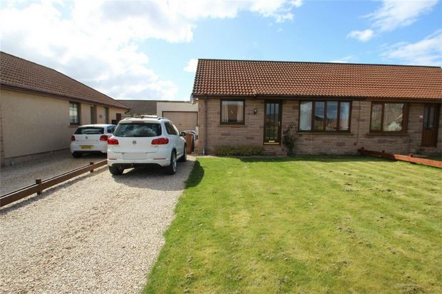 Thumbnail Semi-detached bungalow to rent in 2 Meadow Gardens, Hopeman, Moray