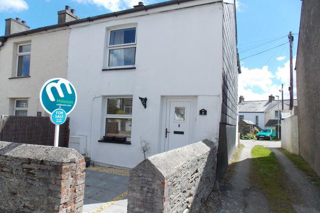 Thumbnail End terrace house to rent in Addington North, Liskeard, Cornwall
