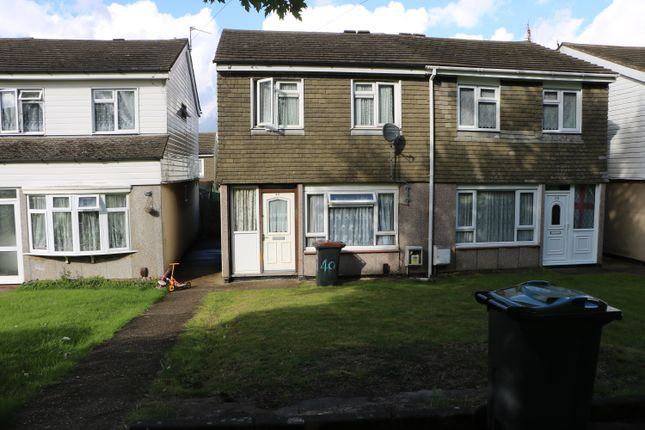 3 bed terraced house for sale in Hurlock Way, Luton