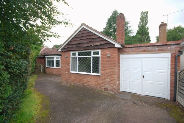 Thumbnail Detached bungalow to rent in Park View Road, Sutton Coldfield