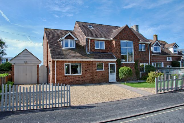 Thumbnail Detached house for sale in Victoria Road, Victoria Road, Milford On Sea