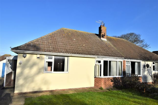 Thumbnail Semi-detached bungalow for sale in Mundesley Road, Overstrand, Cromer