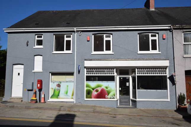 Thumbnail Flat to rent in Central Stores Flat, Talybont, Ceredigion
