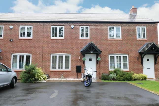 2 bed terraced house for sale in Mulberry Grove, Tidbury Green, Solihull B90