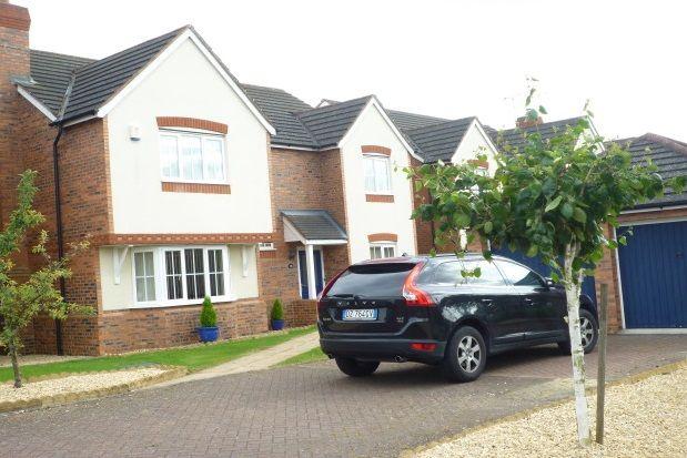 Thumbnail Detached house to rent in Miranda Drive, Heathcote, Warwick
