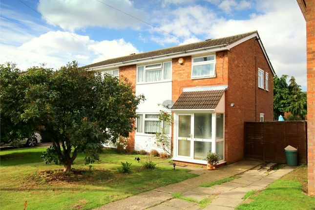 Thumbnail Semi-detached house for sale in Philip Gardens, Eynesbury, St. Neots