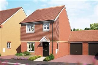 Thumbnail Link-detached house for sale in The Mulberry, Cloverfields, Didcot, Oxfordshire