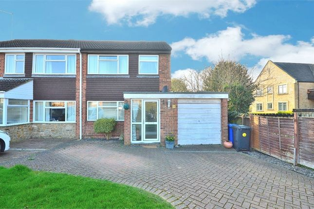 Thumbnail Semi-detached house for sale in Meadway, Bugbrooke, Northampton