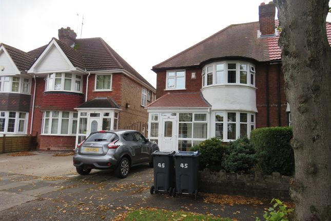 Thumbnail Semi-detached house for sale in Miall Road, Hall Green, Birmingham