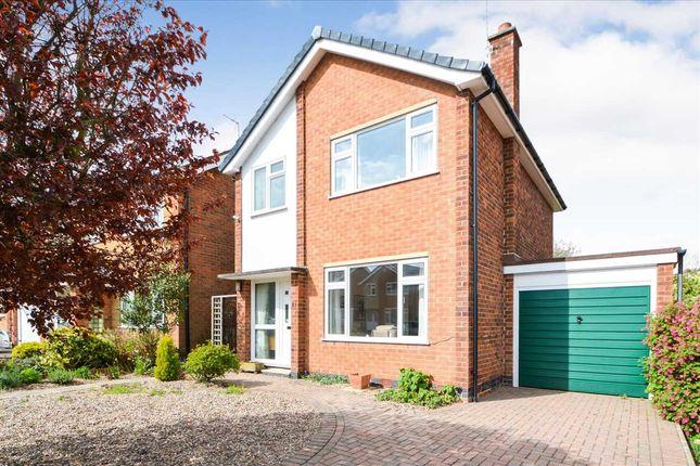 Thumbnail Detached house for sale in Walton Drive, Keyworth, Nottingham