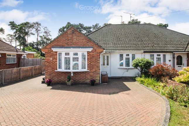 Thumbnail Semi-detached bungalow to rent in Roslyn Road, Woodley, Reading