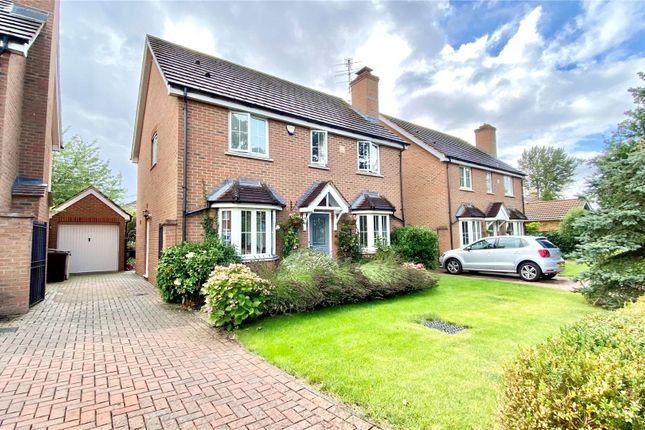 Thumbnail Detached house for sale in Arbor Lane, Winnersh, Wokingham, Berkshire
