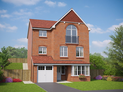 Thumbnail Detached house for sale in Sychnant Pass Road, Conwy