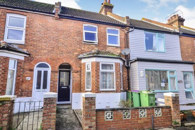 Thumbnail Terraced house for sale in Royal Military Avenue, Folkestone, Kent