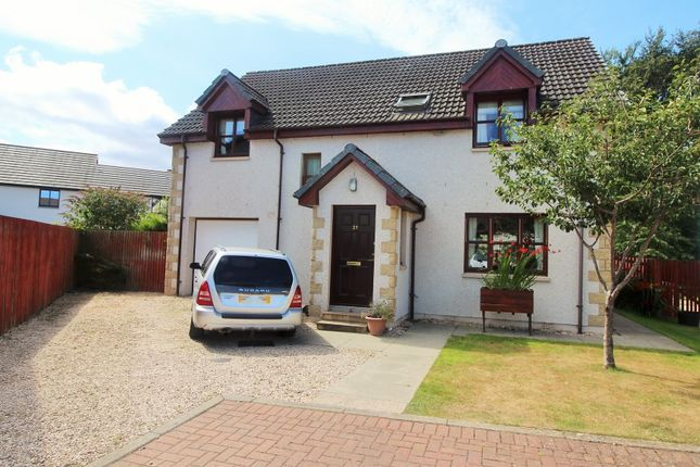Thumbnail Detached house for sale in Balnageith Rise, Forres