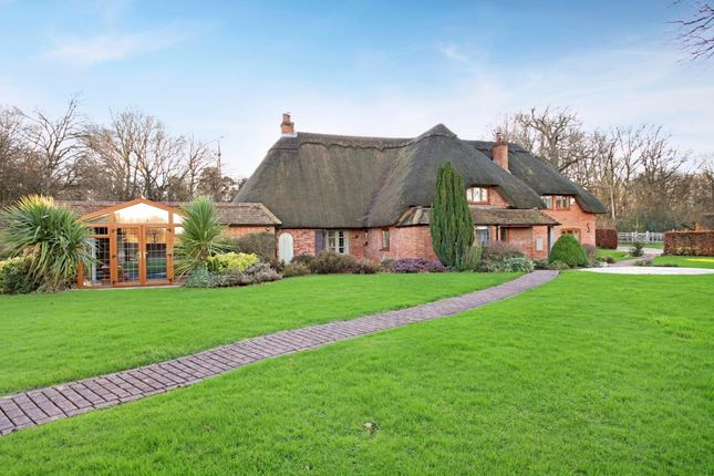 Thumbnail Detached house to rent in Crookham Common Road, Crookham Common, Thatcham