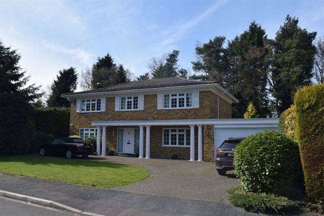 Thumbnail Detached house for sale in Robin Hill Drive, Camberley, Surrey