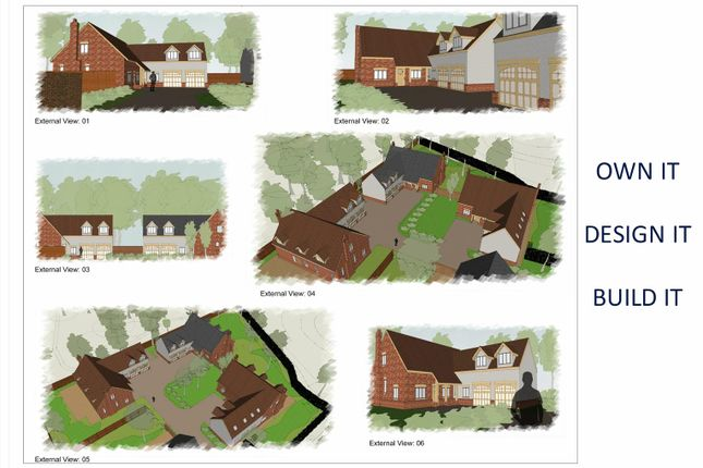 Thumbnail Detached house for sale in Brick Kiln Lane, Shepshed, Loughborough