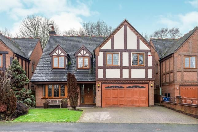 Thumbnail Detached house for sale in Castlecroft, Norton Canes, Cannock, Staffordshire