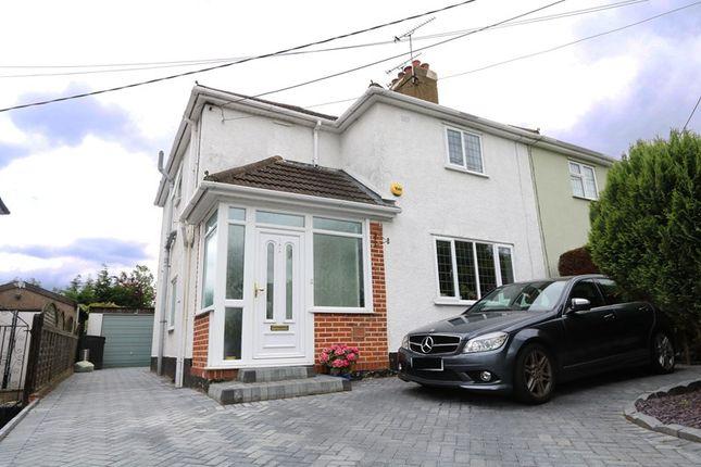 Thumbnail Semi-detached house for sale in Cranbrook Avenue, Hadleigh, Benfleet