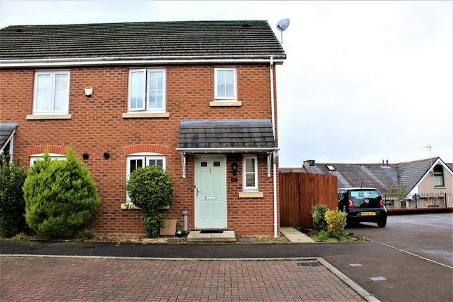 Thumbnail Semi-detached house for sale in Cwm Braenar, Pontllanfraith, Blackwood