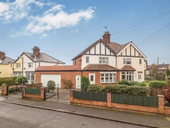 Thumbnail Semi-detached house for sale in Breedon Street, Long Eaton, Nottingham, Derbyshire