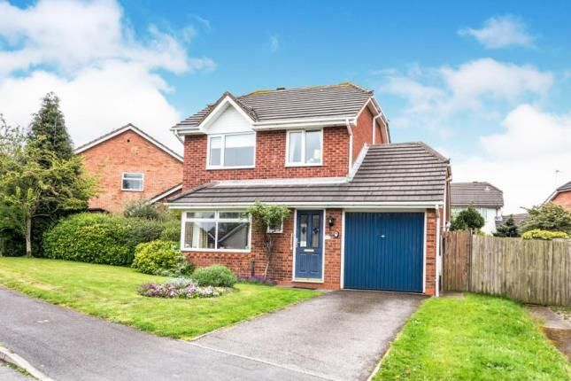 Thumbnail Detached house for sale in Coltman Close, Lichfield