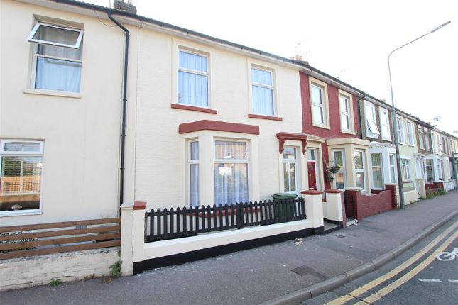 Thumbnail Terraced house to rent in Trinity Road, Sheerness