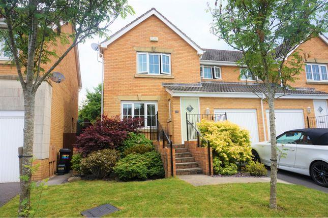 Thumbnail Semi-detached house for sale in Crymlyn Parc, Skewen