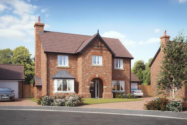 Thumbnail Detached house for sale in Kings Vale Off Shrewsbury Road, Baschurch, Shrewsbury