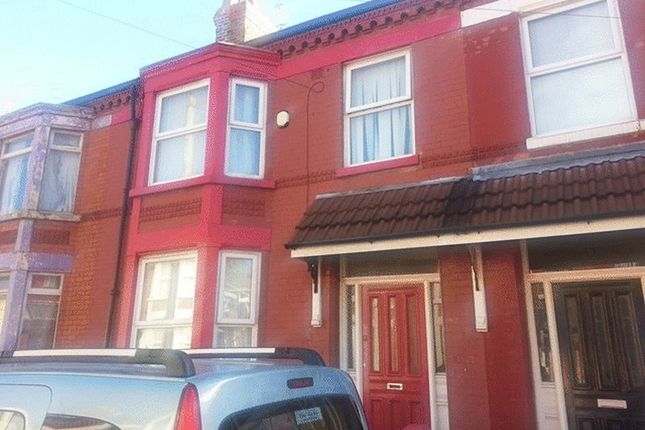 4 bed terraced house for sale in Ashbourne Road, Aigburth, Liverpool