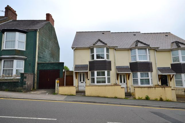 Thumbnail End terrace house to rent in Treowen Road, Pembroke Dock