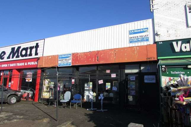 Thumbnail Retail premises to let in Dunstable Road, Luton, Bedfordshire