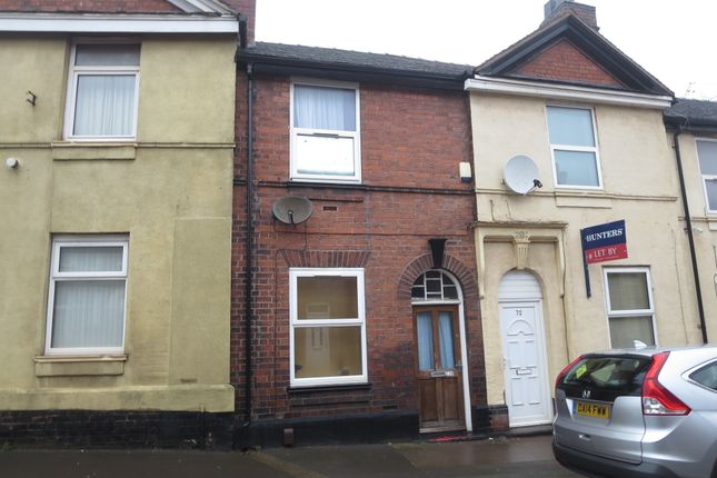 Thumbnail Terraced house for sale in Victoria Street, Chesterton, Newcastle