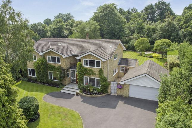 Thumbnail Detached house for sale in Onslow Road, Burwood Park, Hersham, Walton-On-Thames