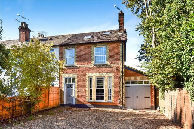 Thumbnail End terrace house for sale in Frimley Road, Camberley, Surrey