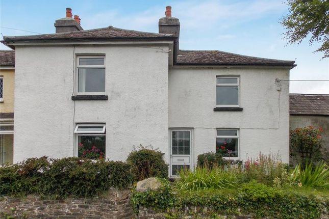 Thumbnail Semi-detached house for sale in Cross Roads Cottages, Cross Road, Lewdown