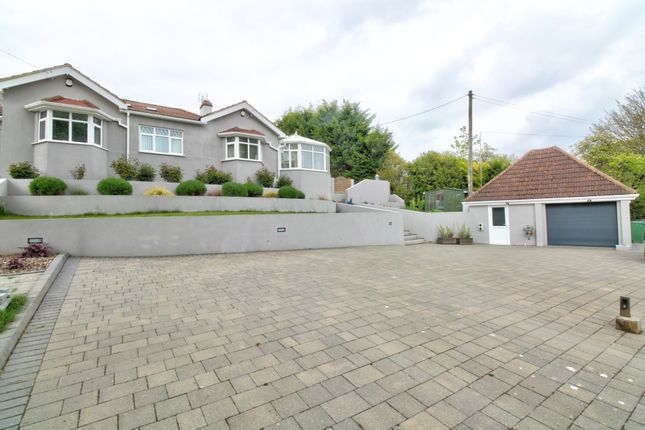 Thumbnail Detached bungalow for sale in Valley Road, Peacehaven
