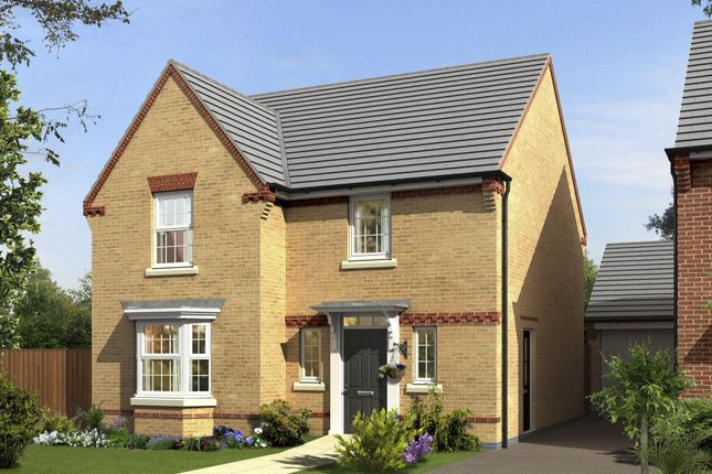 "Thumbnail Detached house for sale in ""Shenton"" at Newport Road, St. Mellons, Cardiff"