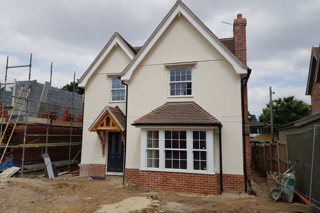 Thumbnail Detached house for sale in Hadleigh Road, East Bergholt, Colchester