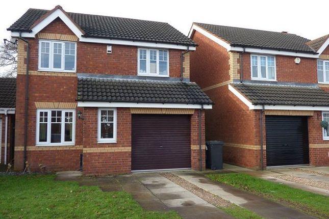 Thumbnail Detached house to rent in 15 Sandbeck Court, Rossington, Doncaster