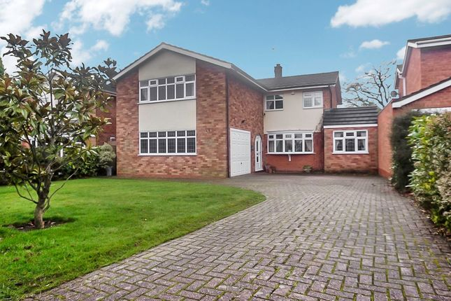 Thumbnail Detached house for sale in Oakhurst Road, Wylde Green, Sutton Coldfield