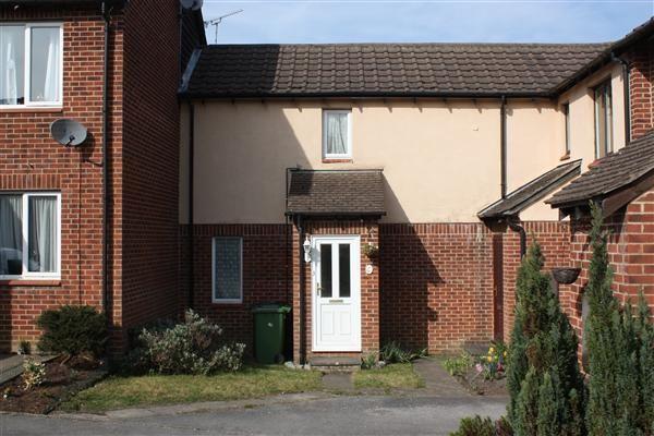 Thumbnail Terraced house to rent in Roxburghe Close, Whitehill, Bordon