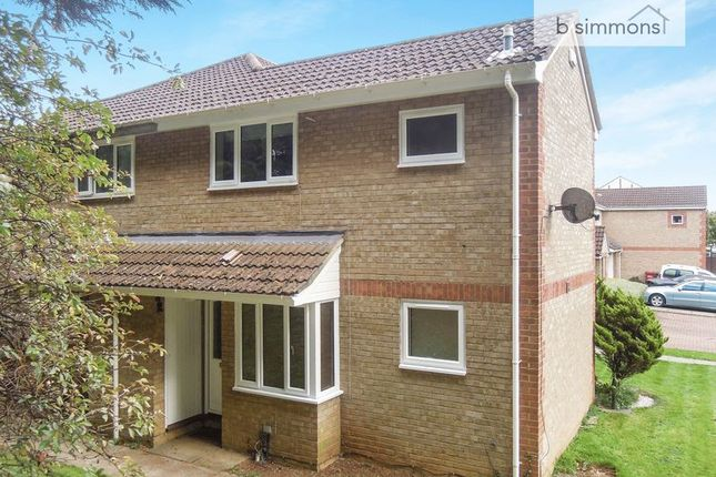 Thumbnail End terrace house to rent in Maplin Park, Langley, Slough