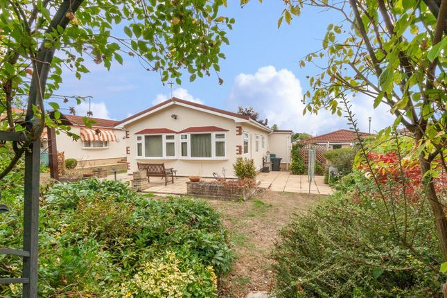 Thumbnail Mobile/park home for sale in Lillybrook Estate, Lyneham, Chippenham