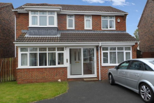 Thumbnail Detached house for sale in Wheatfields, Seaton Delaval, Whitley Bay