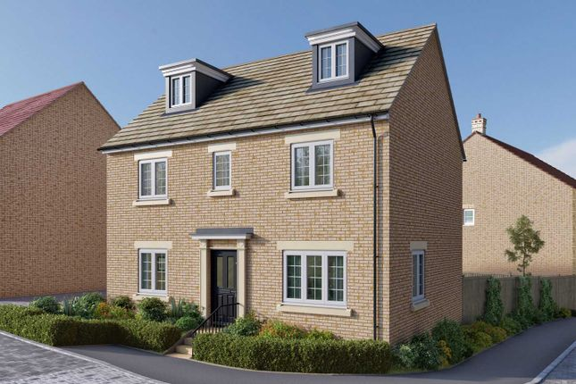 "Thumbnail Detached house for sale in ""The Lutyens"" at Uffington Road, Barnack, Stamford"