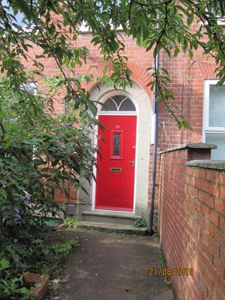Thumbnail Terraced house to rent in Wellington Square, Lenton, Nottingham