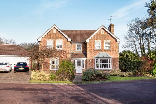 Thumbnail Detached house to rent in Roundshead Drive, Warfield